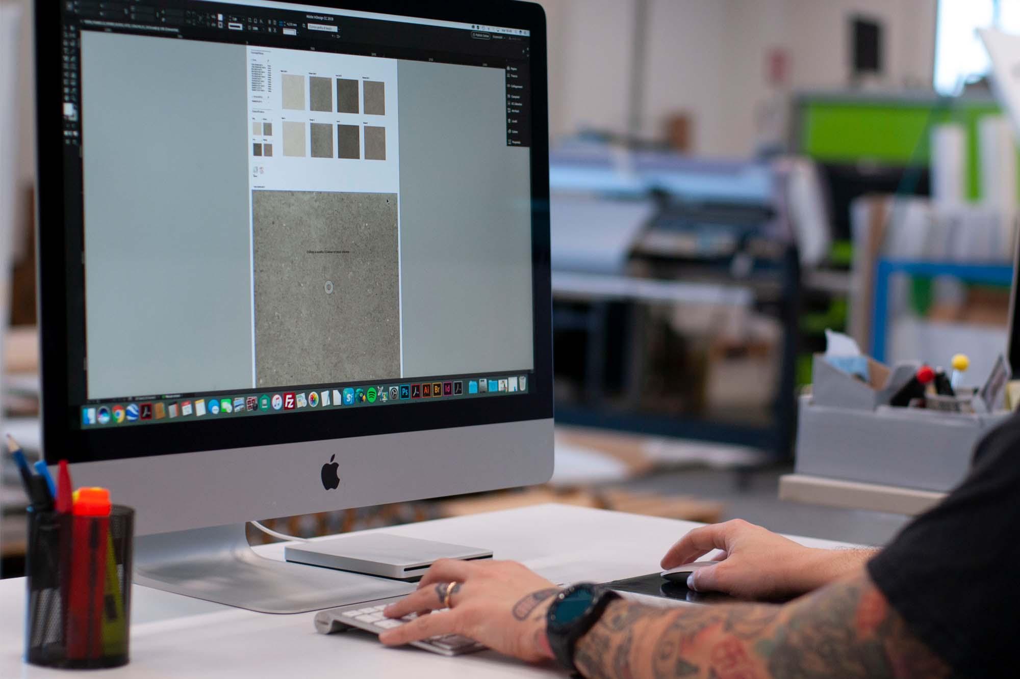 progettazione pannelli sinottici per ceramica