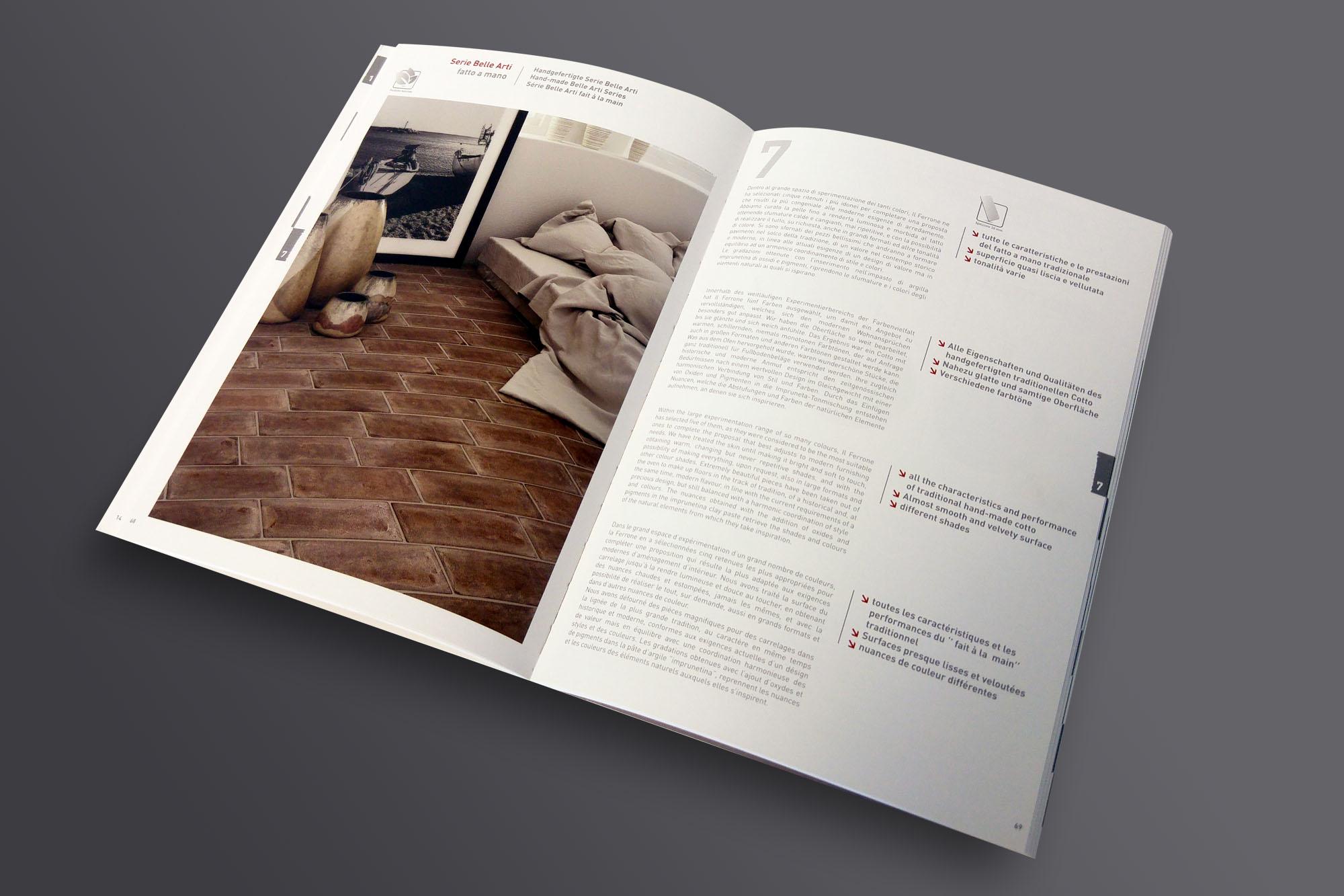 progettazione grafica per cataloghi