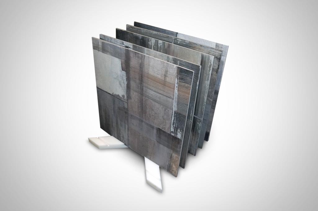 culla per ceramica realizzata in polietilene per utilizzo esterno