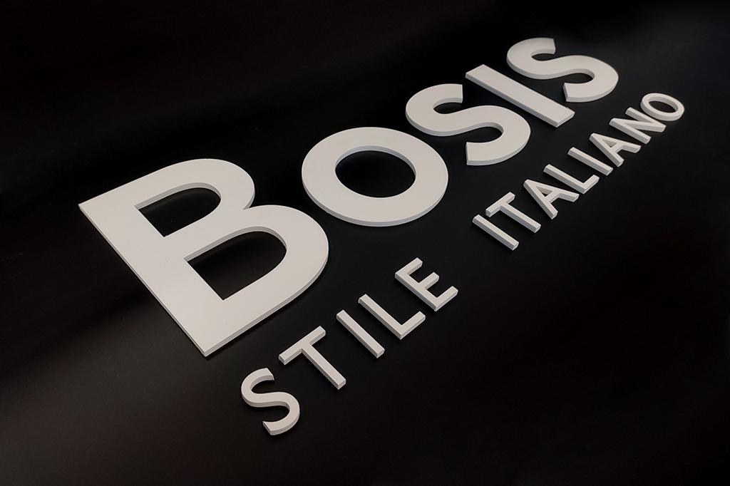 logo pantografato 3D
