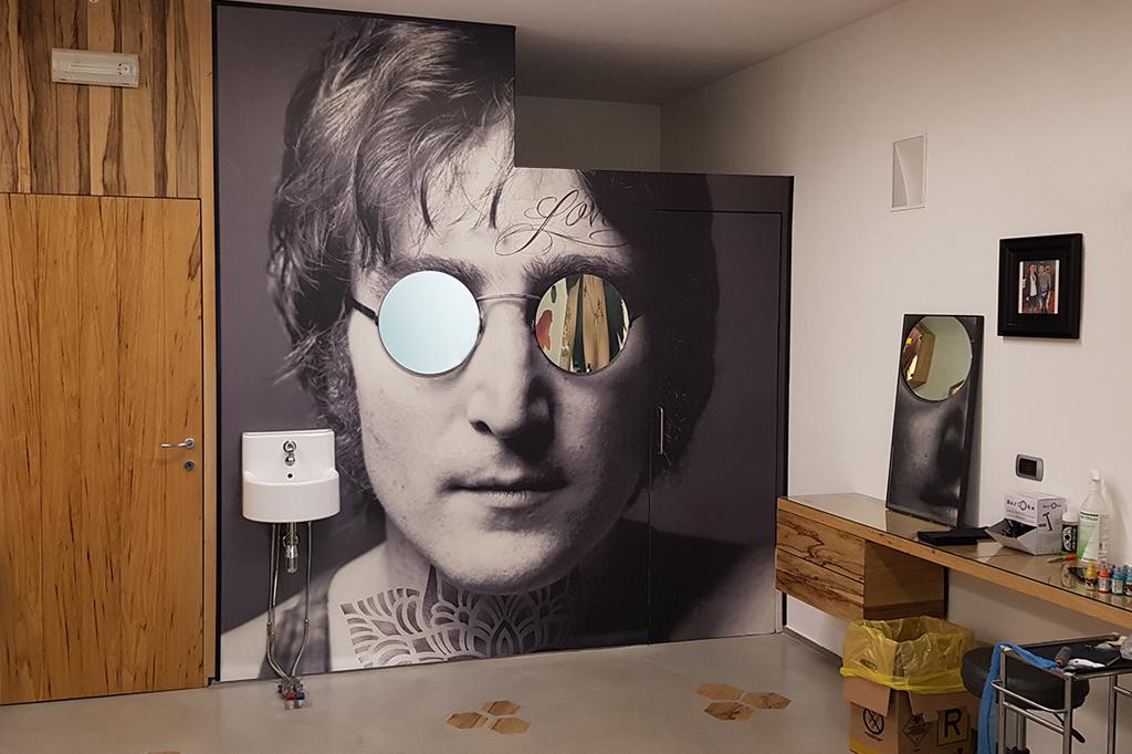 parete realizzata nello studio di Titti Tattoo Sassuolo (MO)